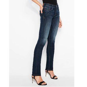Express Jeans Barely Boot Stella Low Rise Jeans